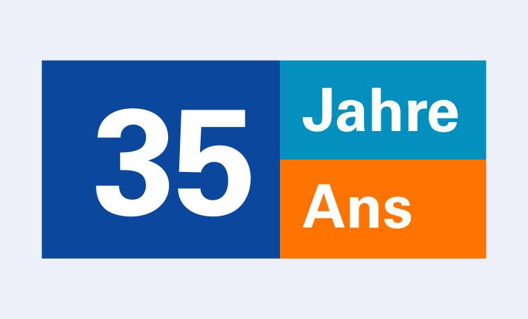 Logo 35 Jahre Pensionskasse Medpension